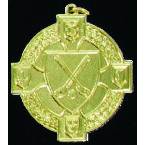 Crossed Hurls Medal - MI051